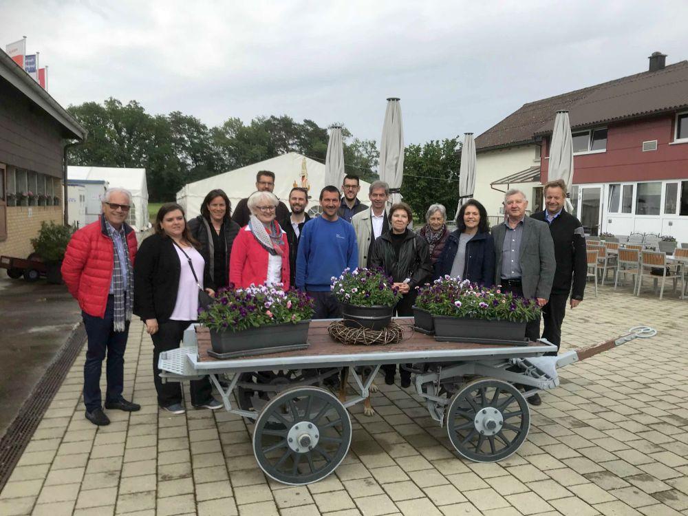 Gewerbeanlass Spargelhof bei Familie Spaltenstein in Flaach