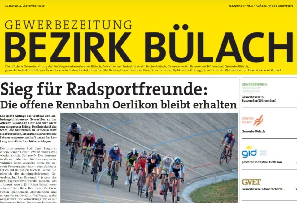 Gewerbezeitung ist aktuell